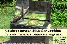 solar cooking diy solar cooker ideas