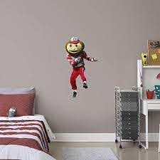 Buy Fathead Ncaa Ohio State Buckeyes Osu Brutus Mascot Officially Licensed Removal Wall Decal Multicolor X Large Features Price Reviews Online In India Justdial