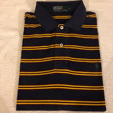 polo ralph lauren navy gold red