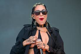 Porcelain Black (American Industrial Pop Singer Songwriter, Rapper, And  Model) Editorial Photo - Image of rock, sunglasses: 49224771