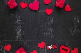 romantic background free vectors
