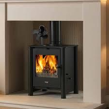 burning wood log friendly fan quiet