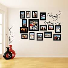 Wall Frame Sticker Picture Frames Stickers Photo Vinyl Etsy Creative Wall Decor Frames On Wall Family Wall Decor