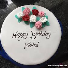 happy birthday vishal cakes cards wishes