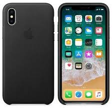 leather case for apple iphone xs