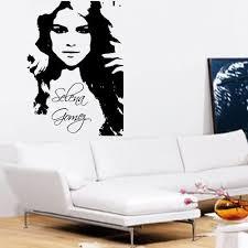 Selena Gomez Wall Art Sticker Decal Amazon Co Uk Kitchen Home