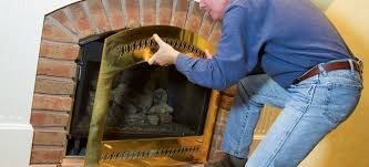 how does a fireplace damper work