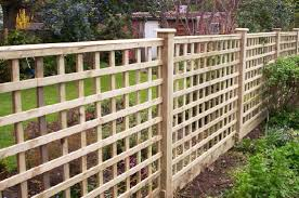 Residential Fencing Panels Trellis Railway Sleepers