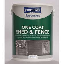 Whitefurze Limited Johnstone Wood Sprayable One Coat Treatment For Sheds And Fences Forest Green Amazon Co Uk Diy Tools