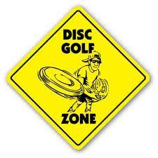 Disc Golf Zone 3 Pack Of Vinyl Decal Stickers Indoor Outdoor Funny Decoration For Laptop Car Garage Bedroom Offices Signmission Walmart Com Walmart Com