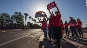 Arizona Teachers Says They Ll End Walkout If Legislature Passes Budget Wral Com
