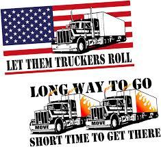 Truckers Wife Vinyl Decal Sticker Window Truck Mack Peterbilt I Love My Trucker Rainbowlands Lk