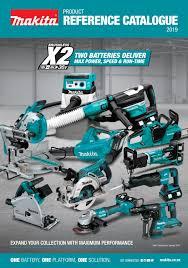 Makita Product Reference Catalogue 2019 Vol 01 By Makita New Zealand Ltd Issuu