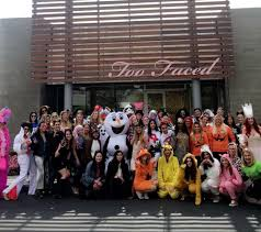 too faced cosmetics office photo