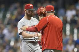 Cincinnati Reds' Pitcher Anthony DeSclafani Returning to Action on ...