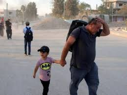 Siria, 100mila civili in fuga sotto i bombardamenti turchi ...