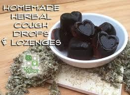 homemade herbal cough drops lozenge