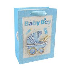 gift bags set with ribbon durable