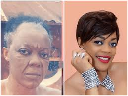 nigerian celebrities without makeup