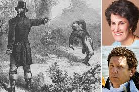 Burr killed Hamilton in a duel, now ...