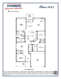 d r horton plan 2045 floor plans