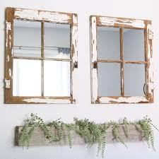 vintage window into a mirror