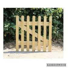 4ft X 3ft Wide Wooden Picket Garden Gate Quality Wood Handmade In N Wales Ebay