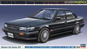 Nissan Bluebird 4door Sedan Sss Attesa Limited U12 Early 1987 Hasegawa 21133 2019