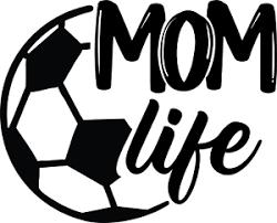 Mom Life Soccer Ball Vinyl Decal Car Truck Window Sports Fun Decor Sticker Ebay