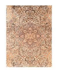 extremely fine vine kashmiri rug