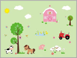 Farm Nursery Decals Kids Room Farm Theme Country Theme Nursery Nurserydecals4you