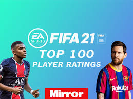 FIFA 21 Ratings: Top 100 player ratings in full released with Lionel Messi  highest overall - Mirror Online