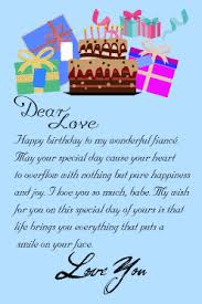 happy birthday letter for fiancee from fiance birthday