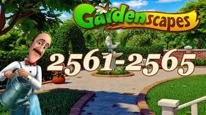 gardenscapes level 2561 2562 2563