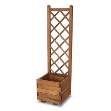 bopha square wooden planter with
