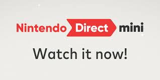 Nintendo Direct Mini ...