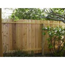 Severe Weather 6 Ft H X 8 Ft W Pressure Treated Pine Dog Ear Fence Panel In The Wood Fence Panels Department At Lowes Com