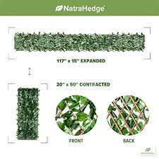 Natrahedge Expandable Faux Ivy Privacy F Buy Online In Hong Kong At Desertcart