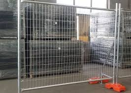 1 8x2 4m Welded Steel Playground Temporary Mesh Fencing Designed For Long Life