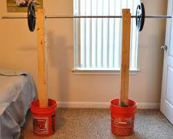 homemade squat rack ideas