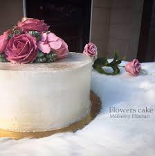 Flowers Cake Posts Facebook
