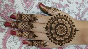 modern back side mehndi design 2019