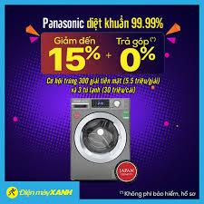 Máy Giặt Panasonic diệt khuẩn 99,99% 💥💥... - Điện máy XANH  (dienmayxanh.com)