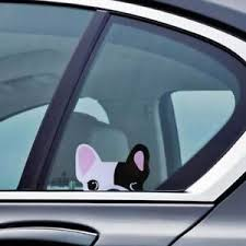 French Bulldog Decal Sticker Cute Fun Frenchie Dog Car Window Vinyl Ebay