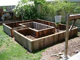 garden bed ideas wood pallet ideas