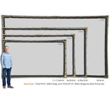 hanging projector screen kit