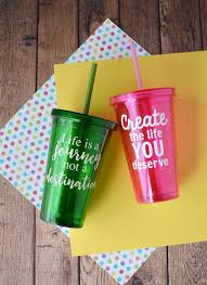 How To Put Vinyl On Cups My Crazy Good Life