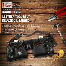 oil tanned leather tool pouch bag