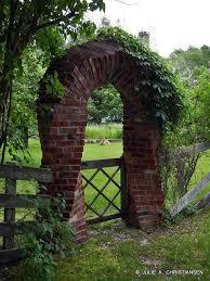 Fence Friday Garden Archway Brick Garden Archway