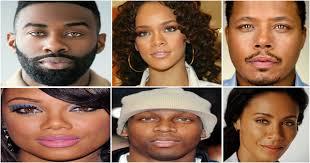 black celebrities with hazel eyes
